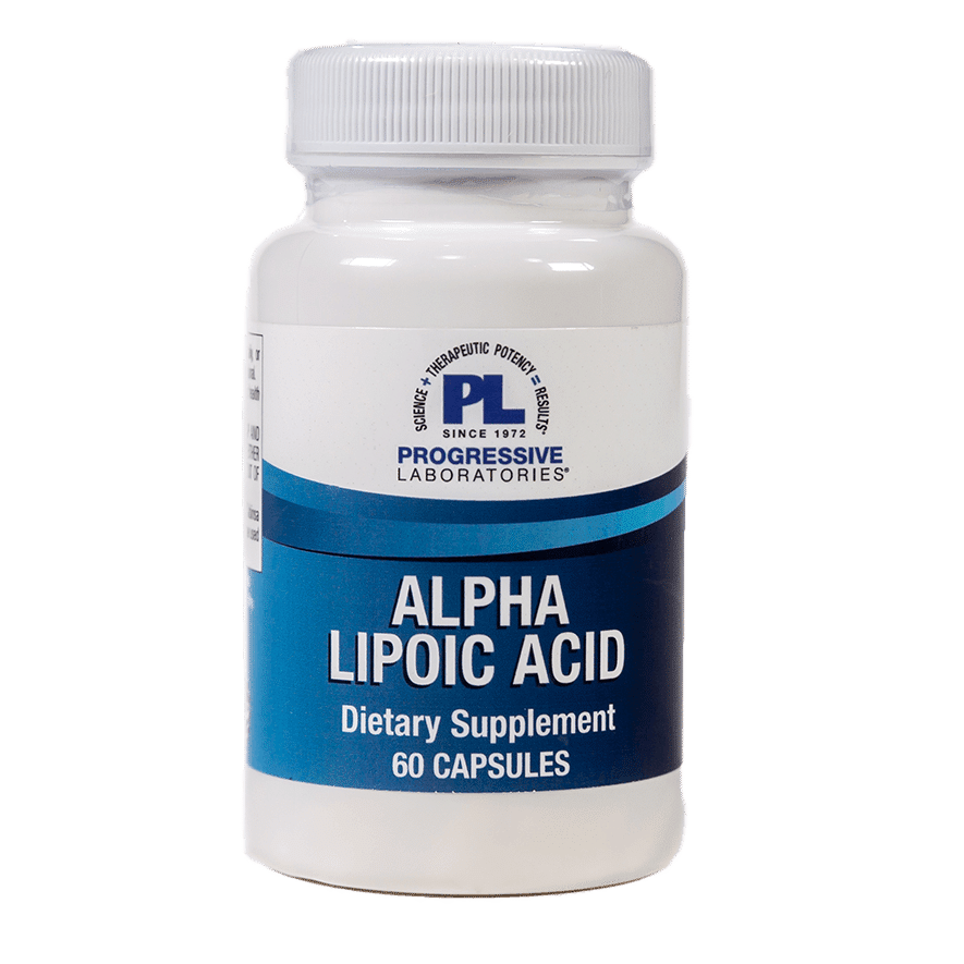 Alpha Lipoic Acid 100 60 Capsules Item # NS-213