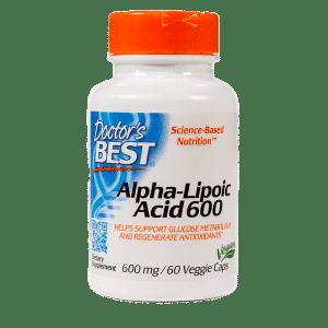 Alpha Lipoic Acid 600 60 Capsules Item # NS-329