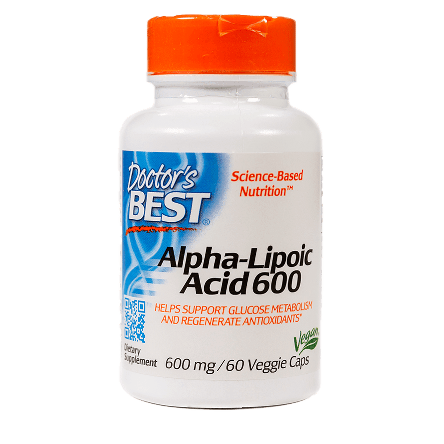 Alpha Lipoic Acid 600 60 Capsules Item # NS-329
