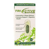Tri Active Biotics 30 V eg Caps Item # NS-385 front