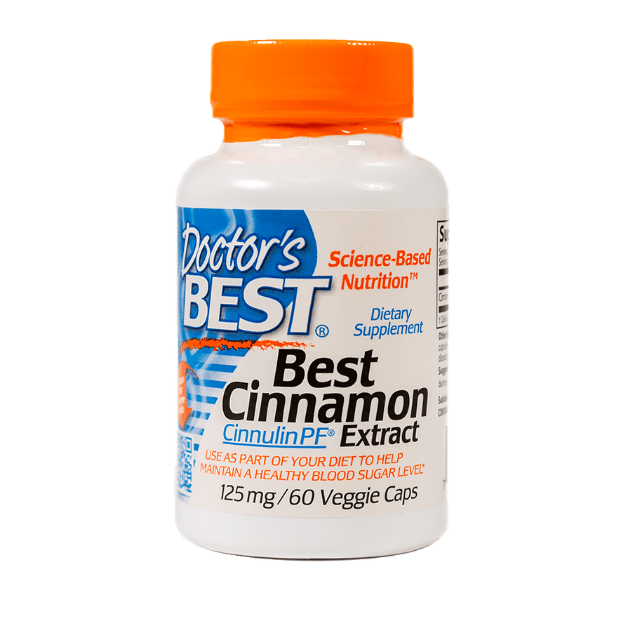 Cinnamon Extract - 60 Veg Capsules - Item# NS-330 FRONT