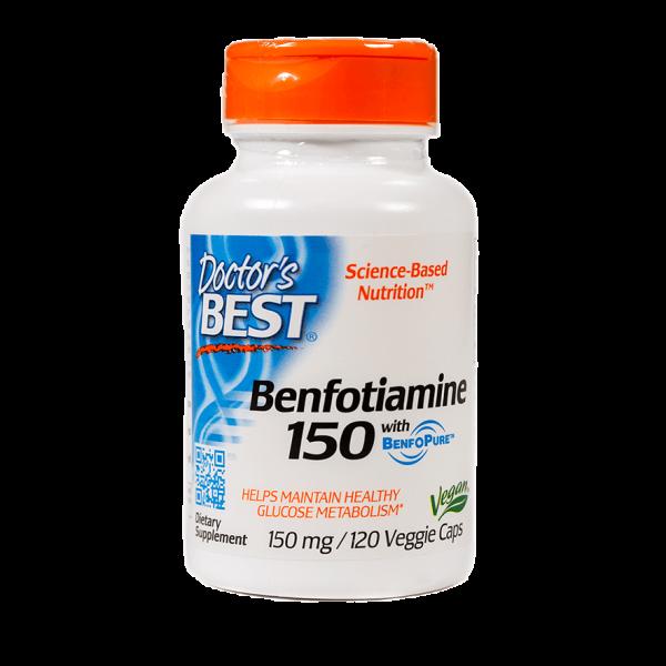 Benfotiamine 120 Veg Capsules Item # NS-286