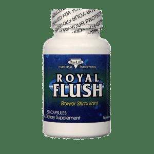 Royal Flush Bowel Stimulant - 60 Capsules - Item# NS-357