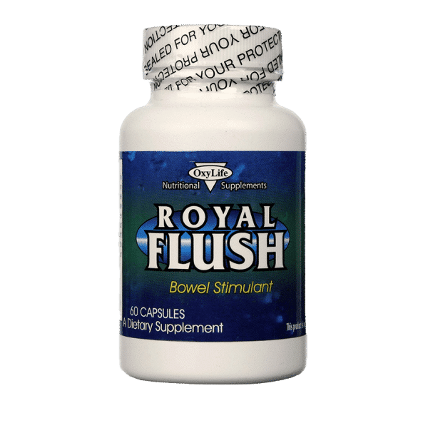 Royal Flush Bowel Stimulant - 60 Capsules - Item# NS-357